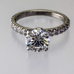 Diamond row ring 3