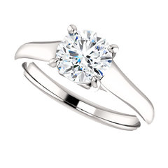 Cathedral engagement ring 3