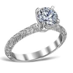 Engraved solitaire 1