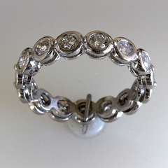 Bezel set eternity band %281%29